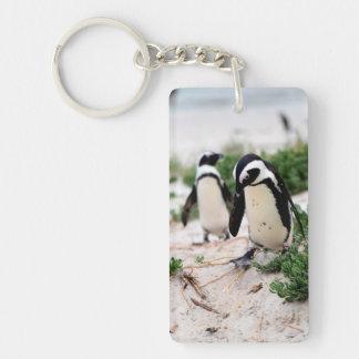 Porte-clés Pingouins à la plage