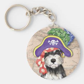Porte-clés Pirate de Schnauzer miniature
