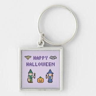 Porte-clés Pixel Halloween heureux