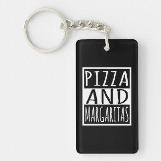 Porte-clés Pizza et margaritas