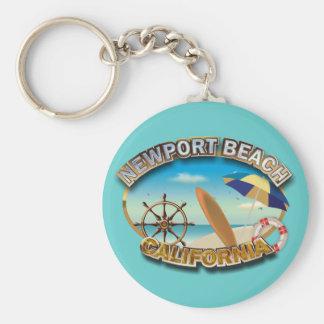 Porte-clés Plage de Newport, la Californie