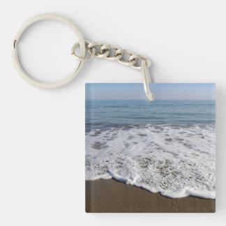 Porte-clés Plage/sable/vagues