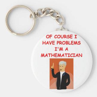 Porte-clés plaisanterie de maths
