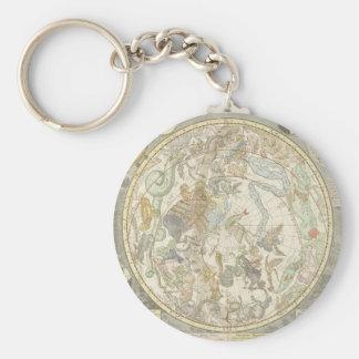 Porte-clés Planisphaerii Coelestis Hemisphaerium