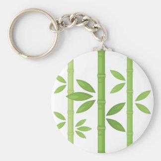 Porte-clés Plante en bambou