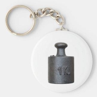 Porte-clés poids - un kilogramme