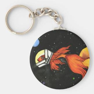 Porte-clés Poissons dans le porte - clé de l'espace