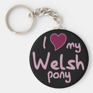 Porte-clés Poney de gallois