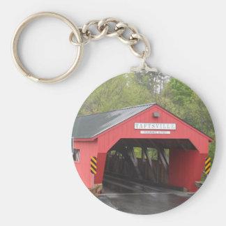 Porte-clés Pont couvert de Taftsville, Vermont