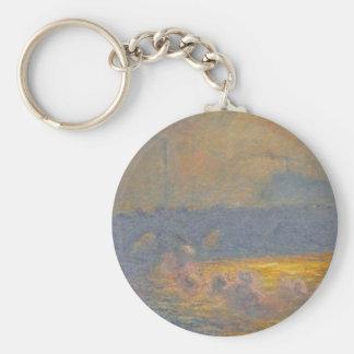 Porte-clés Pont de Waterloo par Claude Monet