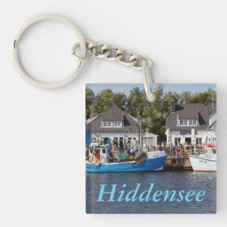 Porte-clés Port de Vitte sur Hiddensee dans Mecklenburg