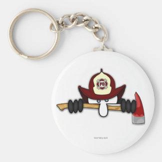 Porte-clés Porte - clé 1 de Kilroy de sapeur-pompier
