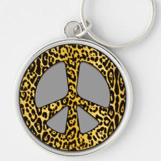 Porte-clés Porte - clé 2 d'ange de paix de guépard