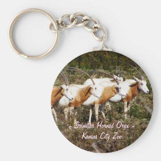 Porte-clés Porte - clé à cornes d'oryx de cimeterre