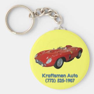 Porte-clés Porte - clé automatique rouge de Kraftsmen