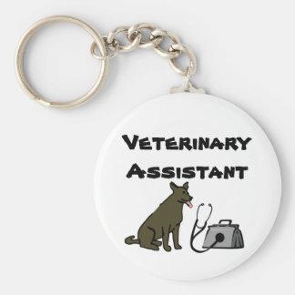 Porte-clés Porte - clé auxiliaire vétérinaire