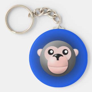 Porte-clés porte - clé avec l'animal : singe