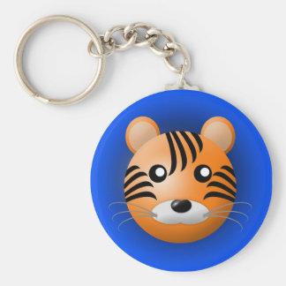 Porte-clés porte - clé avec l'animal : tigre