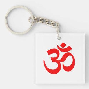 Porte-clés Porte - clé avec le symbole indou de l'OM
