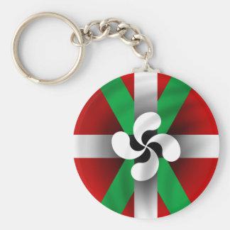 Porte-clés Porte - clé Basque de drapeau