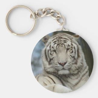 Porte-clés Porte - clé blanc de tigre