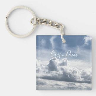Porte-clés Porte - clé Carpe Diem, belle photo des nuages
