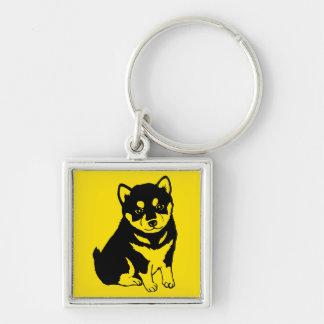 Porte-clés Porte - clé carré de l'année 2018 chinois de chien