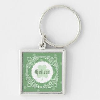 Porte-clés Porte - clé celtique de nom de carré de brume -