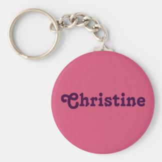 Porte-clés Porte - clé Christine