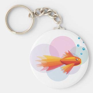 Porte-clés Porte - clé coloré de poisson rouge