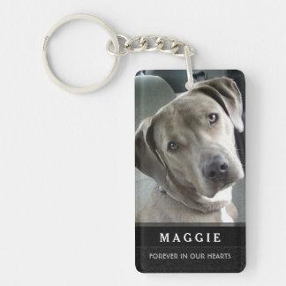 Porte-clés Porte - clé commémoratif d'animal familier - de