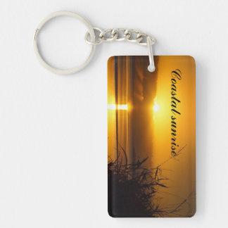 Porte-clés Porte - clé côtier de lever de soleil