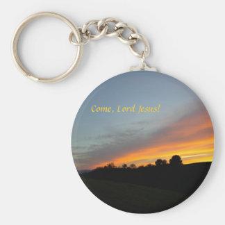 Porte-clés Porte - clé-Coucher du soleil et nuages : Venez,