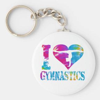Porte-clés Porte - clé d'acclamation de danse de gymnastique