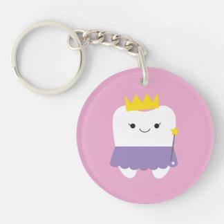 Porte-clés Porte - clé d'acrylique de fée de dent