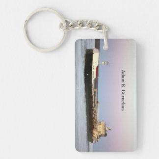 Porte-clés Porte - clé d'acrylique de rectangle d'Adam E.