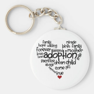 Porte-clés Porte - clé d'adoption