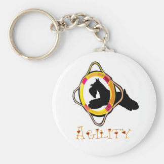 Porte-clés Porte - clé d'agilité de Schnauzer