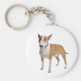 Porte-clés Porte - clé d'amour de chiot de bull-terrier