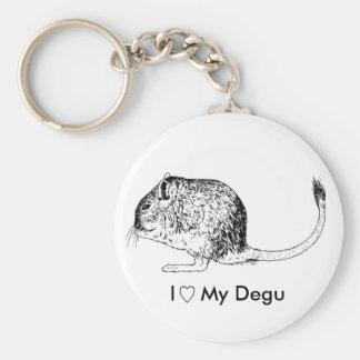 Porte-clés Porte - clé d'amour de Degu