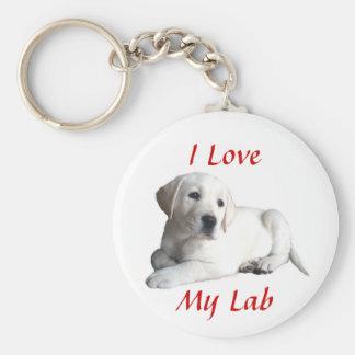 Porte-clés Porte - clé d'amour de labrador retriever