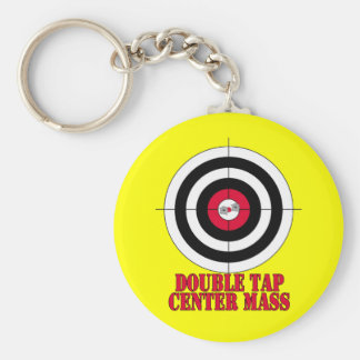 Porte-clés Porte - clé d'arme à feu de boudine de cible de