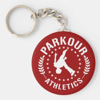 Porte-clés Porte - clé d'athlétisme de Parkour