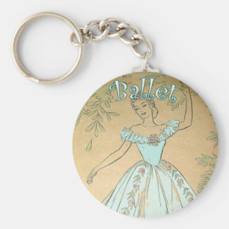 Porte-clés Porte - clé de ballerine