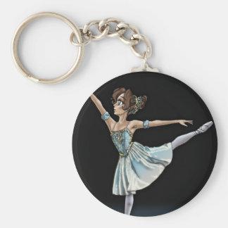 Porte-clés Porte - clé de ballerine d'Anime