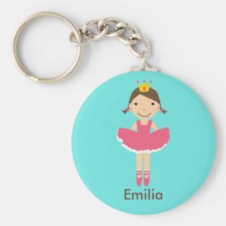 Porte-clés Porte - clé de ballerine de Personalzied de filles