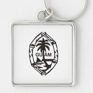 Porte-clés Porte - clé de bambou de la Guam