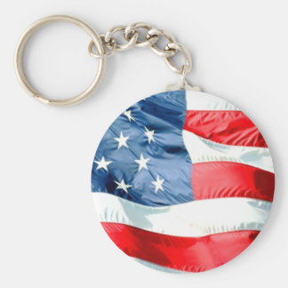 Porte-clés Porte - clé de bannière étoilée des Etats-Unis
