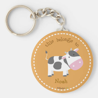 Porte-clés Porte - clé de Brown de vache