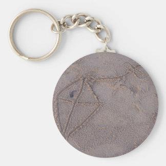 Porte-clés Porte - clé de cerf-volant de sable